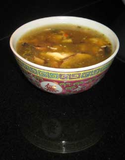 silken tofu egg drop soup