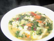 soup veggies