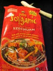 Pete's soyganic tofu in sauce