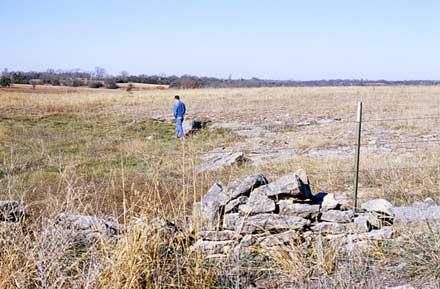 stone fence via Kansas Geological Survey