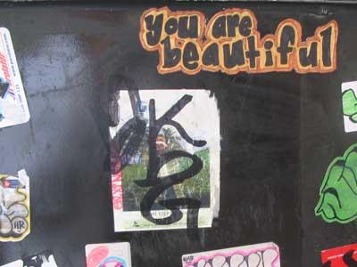 graffiti you are beautiful